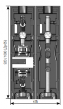"""Насосная группа Майбес (Meibes)  FL-MK Ду40(1 1/2"""") без насоса и термоизоляции б"""