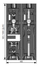 """Насосная группа Майбес (Meibes) FL-MK  Ду50 (2"""") без насоса и термоизоляции"""