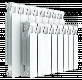 Биметаллический 8-секционный радиатор Rifar Monolit 350 (415x640x100, 1072Вт)