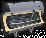 Напольный бойлер косвенного нагрева Ecosystem H SN 1500 l (1500 л)