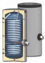 Напольный бойлер косвенного нагрева Ecosystem c двумя увеличенным теплообменниками SWP2 N  500 l (500 л)