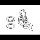 Присоединительный элемент к котлу с переходом DN80/80