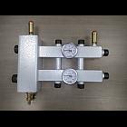 Коллектор на 3 контура с гидрострелкой